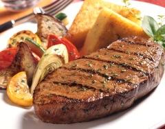 Lækker grillet steak