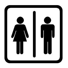 Toilet skilt