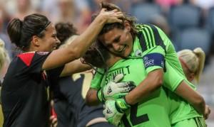 De tyske kvinder vinder EM i fodbold